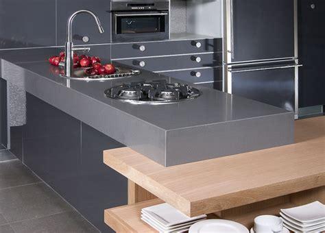 caesarstone concrete kitchen