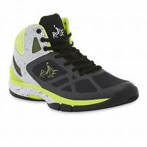 Risewear Men s Halo II High Top Sneaker Black White Neon