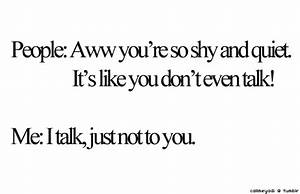 shy introvert t... Introvert Boy Quotes
