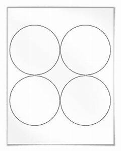 4 best images of small circle template printable free With 4 inch round printable labels