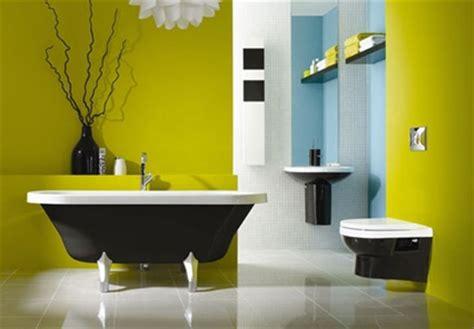 black white and yellow bathroom 12 fotos de ba 241 os en colores vivos 22787