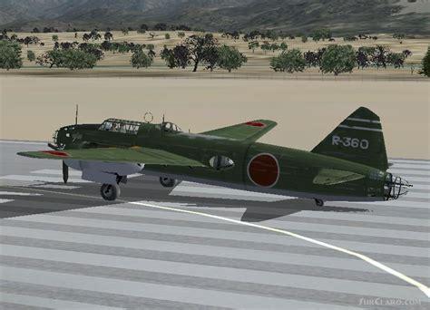 Mitsubishi Betty by Fsx Fs2004 Mitsubishi G4m1 Betty Bomber Codenamed Allies