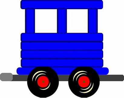 Train Clipart Caboose Carriage Carriages Clip Loco