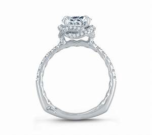 intertwined diamond halo quilted engagement ring With wedding rings intertwined