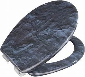 Wc Sitz Stacheldraht Mit Absenkautomatik : wenko wc sitz slate rock mit absenkautomatik otto ~ Bigdaddyawards.com Haus und Dekorationen