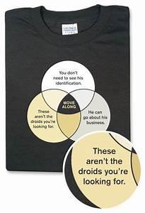 Jedi Mind Trick Venn Diagram Tee
