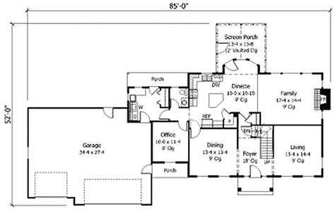 modern colonial house plans thoroughly modern colonial 14364rk 2nd floor master