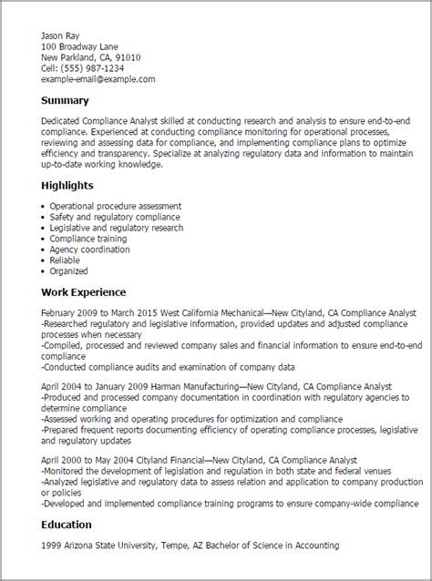 reporting analyst resume cover letter professional
