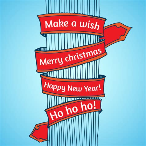 Merry christmas happy new year hd wallpaper 3. Happy New Year and Merry Christmas - Download Free Vectors ...