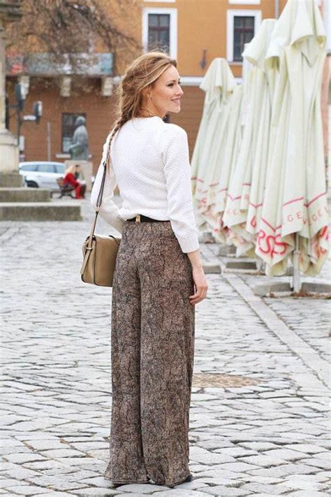 pantalon  taille haute palazzo pour la femme moderne