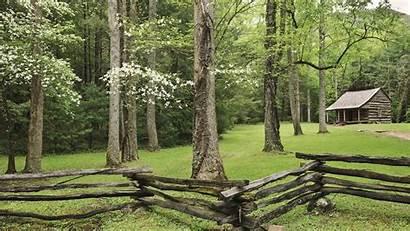 Cabin Spring Mountain Mountains Tennessee Desktop National