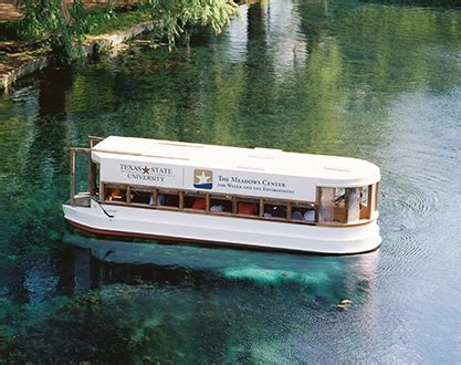 Glass Bottom Boat San Marcos Tx by The Center Glass Bottom Boat Tours San Marcos