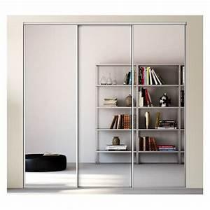 Porte Coulissante Miroir Sur Mesure : kazed 3 portes esquisse miroir acheter en ligne ~ Premium-room.com Idées de Décoration