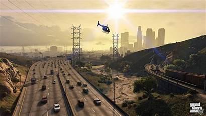 Gta Theft Grand Roads Graphics Games 1280