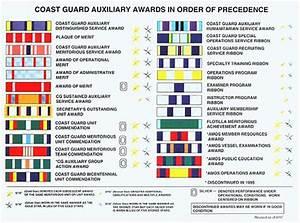 Coast Guard Medals And Awards Chart Ribbons Jpg 700 519 Coast Guard Auxiliary Coast Guard