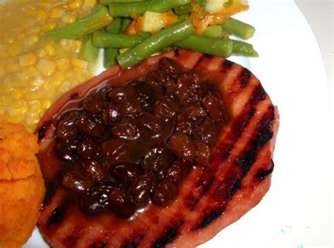 raisin sauce  ham recipe genius kitchen