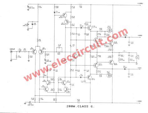 Rudiant Watt High Power Amplifier Circuit Complet