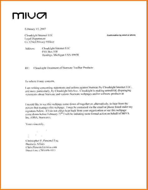 Demand Letter Template 10 Formal Demand Letter Template Financial Statement Form