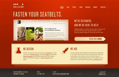 creative home page designs web design showcase