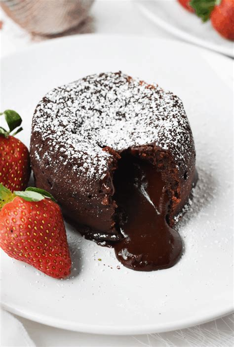 molten chocolate lava cakes    butter