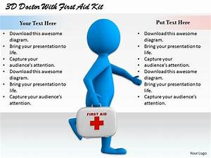 1813 3d Doctor With First Aid Kit Ppt Graphics Icons