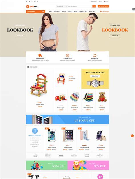 Ecommerce Themes 55 Best Magento Ecommerce Themes Naldz Graphics