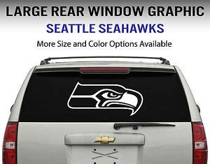 seattle seahawks window decal graphic sticker car truck