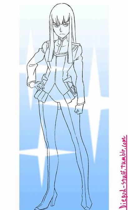 Satsuki Kill Diepod Drawn Concept Shot Using