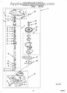Whirlpool Wp389387 Agitator Drive Shaft