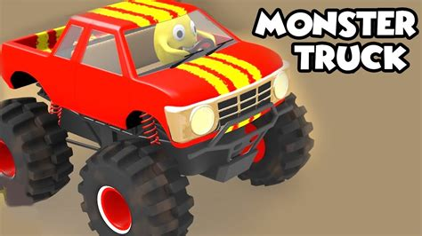 monster truck videos monster truck stunts monster trucks for children 3d