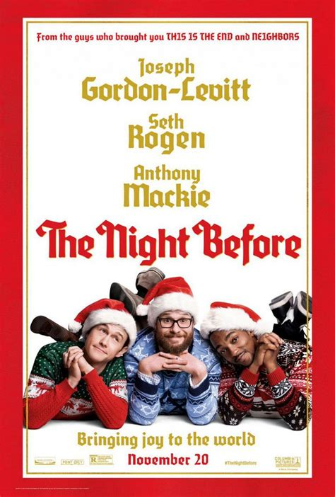 the night before 2015 christmas comedy movie