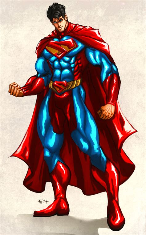 superman deviantart concept fan erikvonlehmann comic artwork drawing batman artist ii vs last costume comics deviant something redesign thor battle