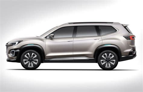 subaru suv subaru previews new 7 seat suv with viziv 7 concept