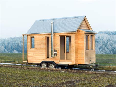 Tiny Häuser Auf Räder by Tiny House Acht Quadratmeter Wohn T Raum Auf R 228 Dern