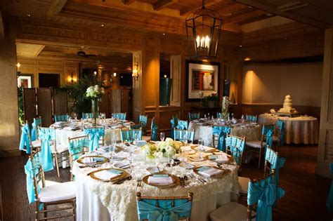 Intimate And Beautiful Wedding Ivory Tiffany Blue And A