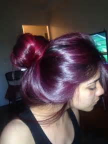 Magenta Hair Loreal Hi Color Magenta Hair Pinterest