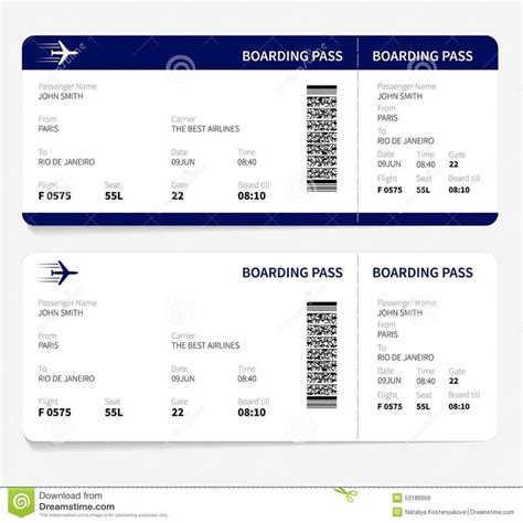 airline ticket template  sample customer service