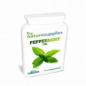 Peppermint Oil Capsules X 60  50mg