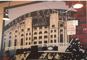 Yankee Stadium Wall Mural. Good Nyc Papers Out Social ...