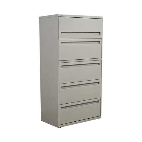 hon lateral file cabinet 80 off hon hon white five drawer lateral file cabinet