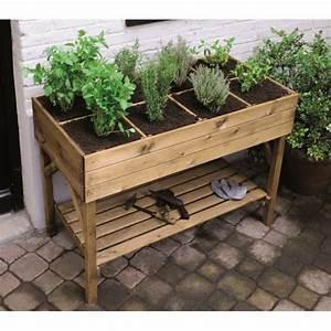 Carre De Jardin Potager : carre potager sureleve marjolaine ~ Premium-room.com Idées de Décoration