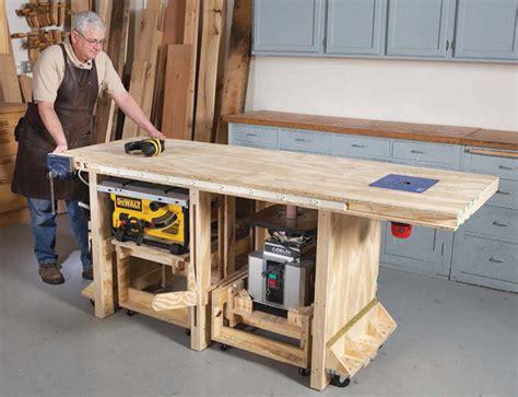 richard tendicks power tool bench plans  popular woodworking