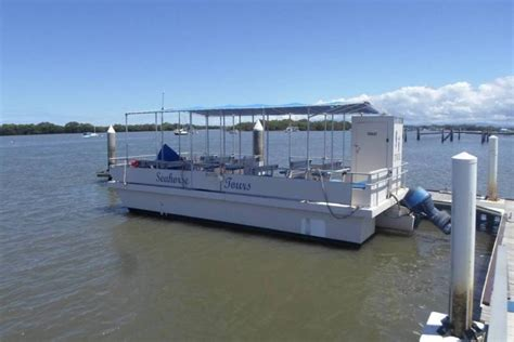 Used Pontoon Boats For Sale Qld by Pontoon Boat In Survey Power Boats Boats For