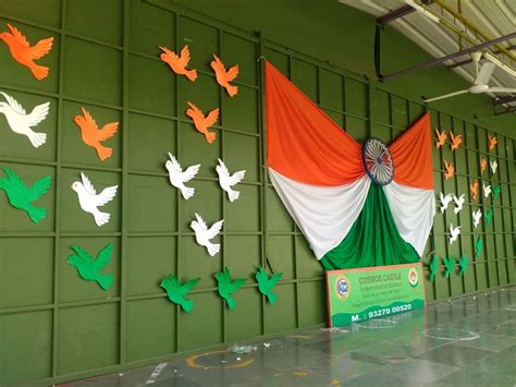 Backdrop Ideas For School by Backdrop Ideas Stage Decoration Celebration Of Republic