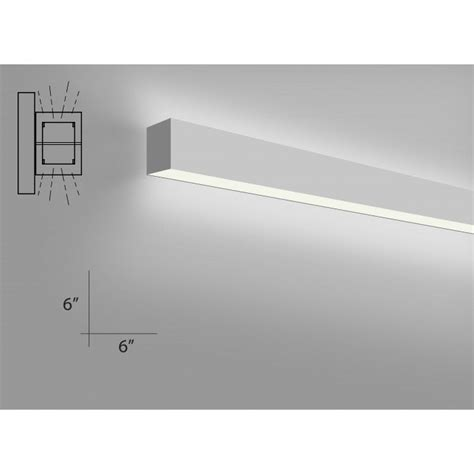 alcon lighting 11106 4 w beam 66 architectural led 4 foot linear wall mount direct indirect