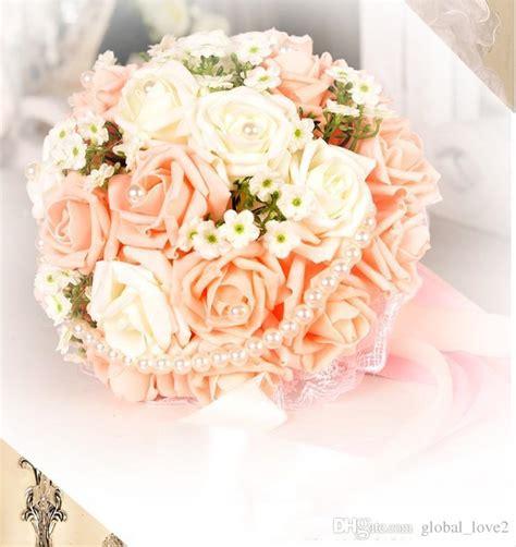 vintage artificial wedding bouquets  flowers bridal