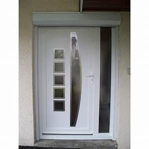 porte d39entree pvc a la belle fenetre With porte d entrée pvc avec fenetre aluminium prix