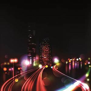 Night City Vector Free vector in Encapsulated PostScript