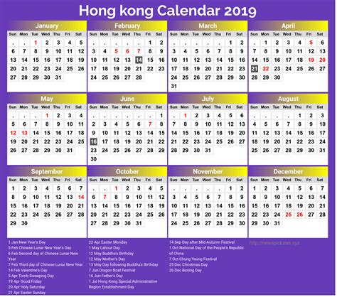 printable calendar hongkong public holidays newspicturesxyz