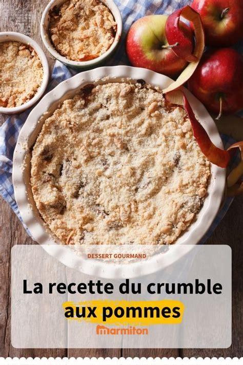 recette de crumble salé crumble facile recette desserts recette crumble et